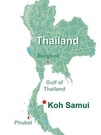 Thailandia Map